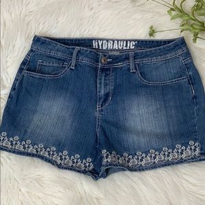 Hydraulic Jean Shorts Women's Sz 16